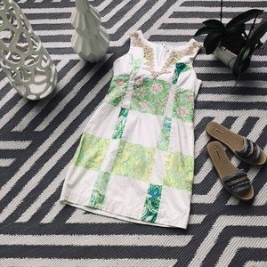 Lilly Pulitzer zip-up casual summer dress